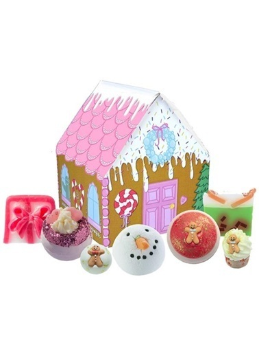 Bomb Cosmetics House of Sugar & Spice Hediye Paketi Renkli